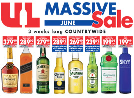 Liberty Liquors Fathers day special deals