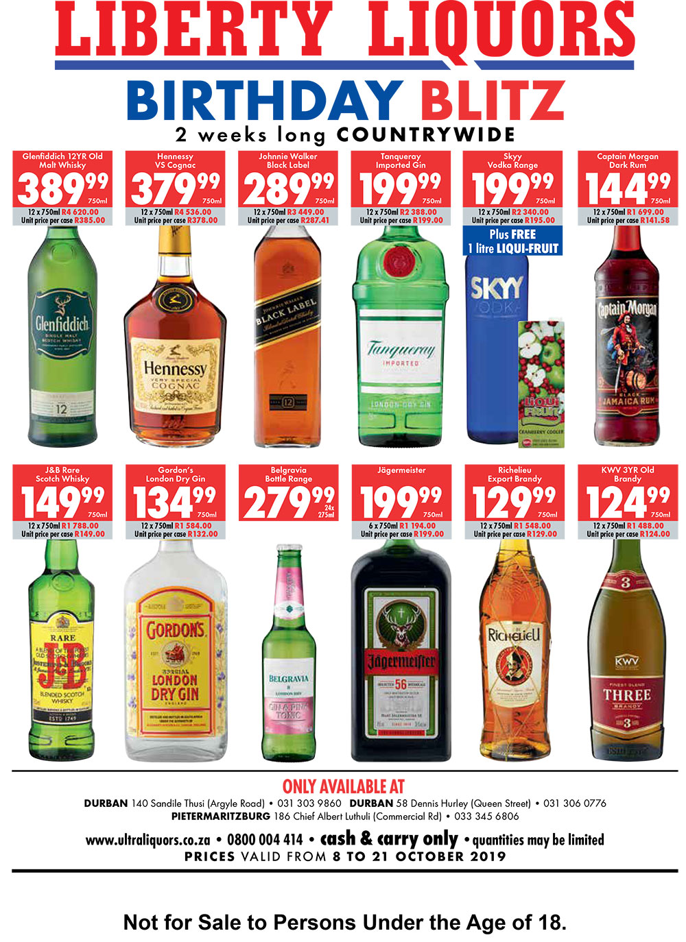 birthday blitz special deals liberty liquors